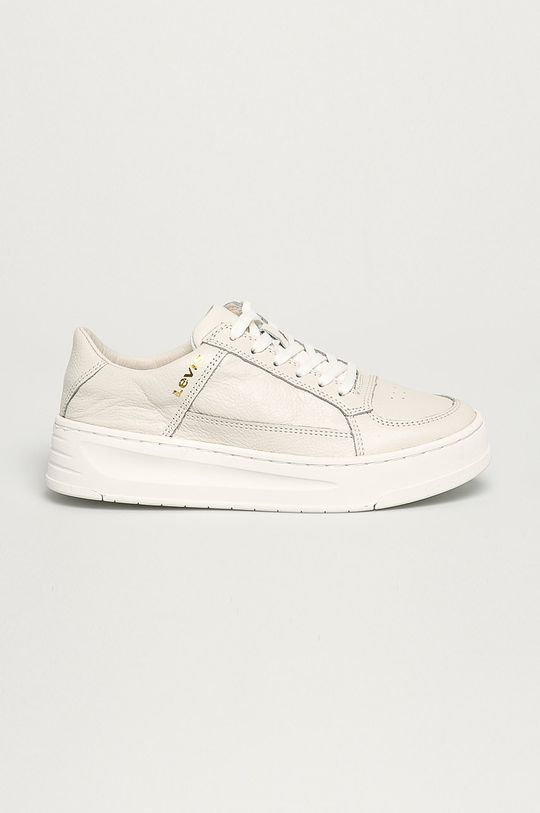 biela Levi's - Kožená obuv Dámsky