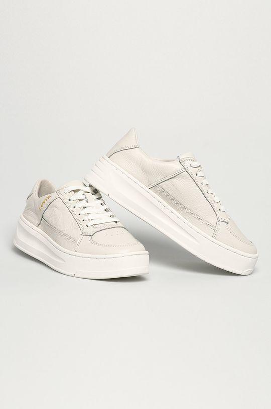 Levi's - Kožená obuv biela