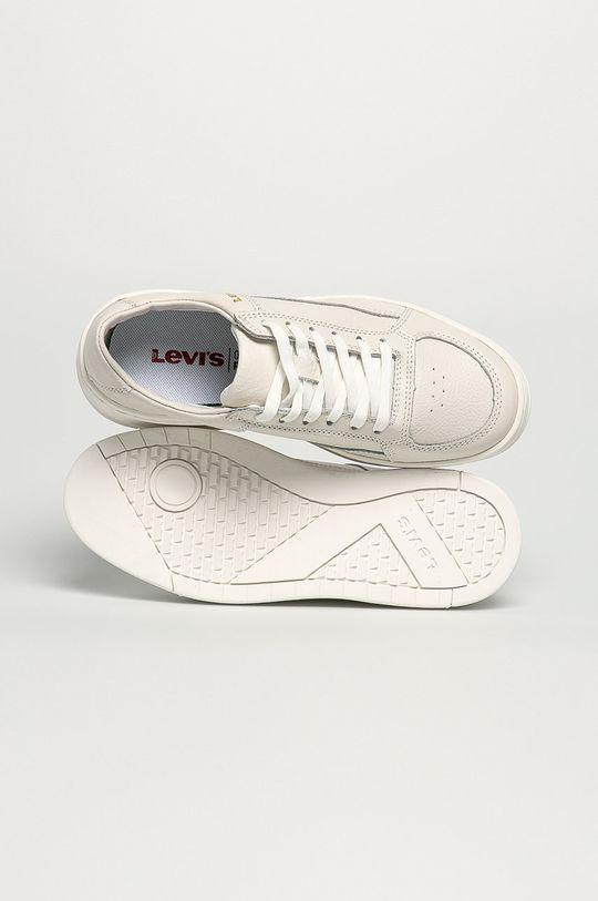 biela Levi's - Kožená obuv