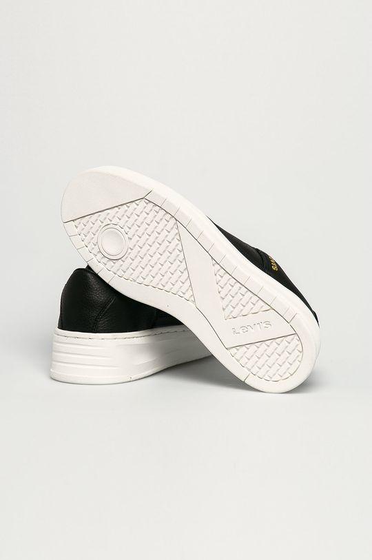čierna Levi's - Kožená obuv