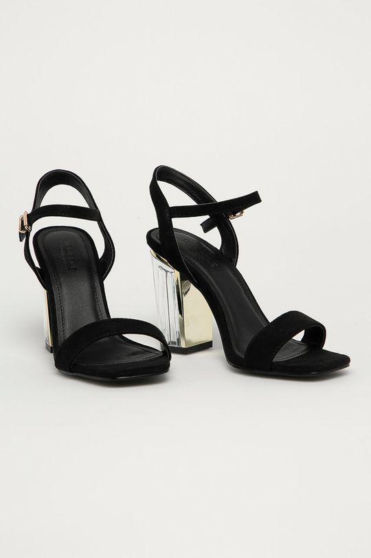 Truffle Collection - Sandály černá