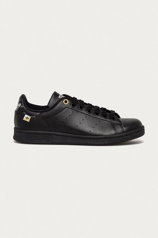 čierna adidas Originals - Topánky Stan Smith Dámsky