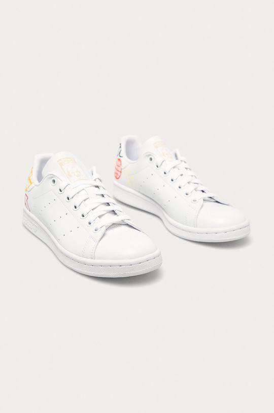 adidas Originals - Pantofi Stan Smith alb