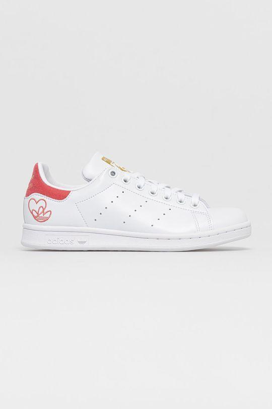 bílá adidas Originals - Boty STAN SMITH Dámský
