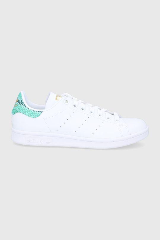 biały adidas Originals - Buty Stan Smith Damski