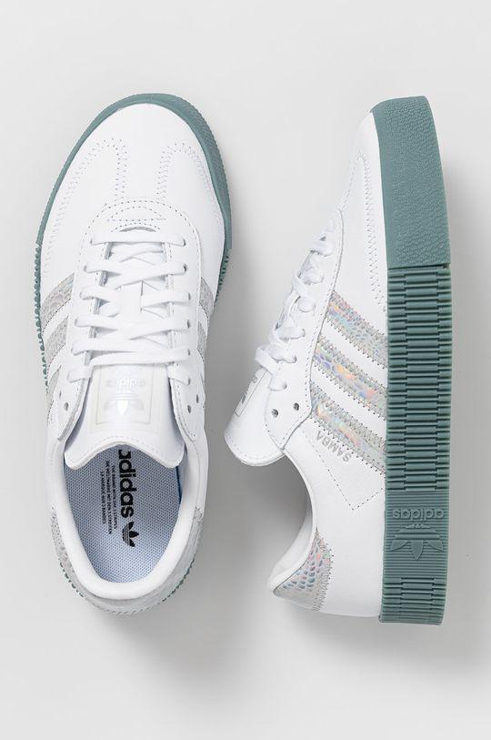 adidas Originals - Buty Sambarose biały