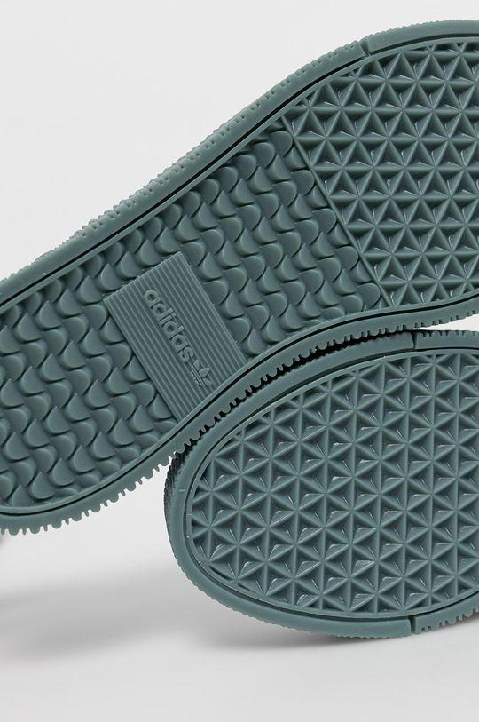biały adidas Originals - Buty Sambarose