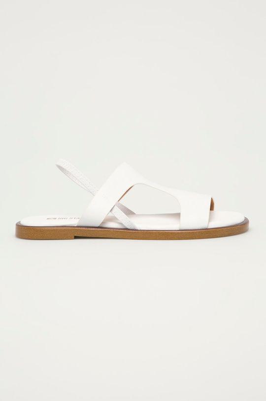 biały Big Star - Sandały skórzane Damski