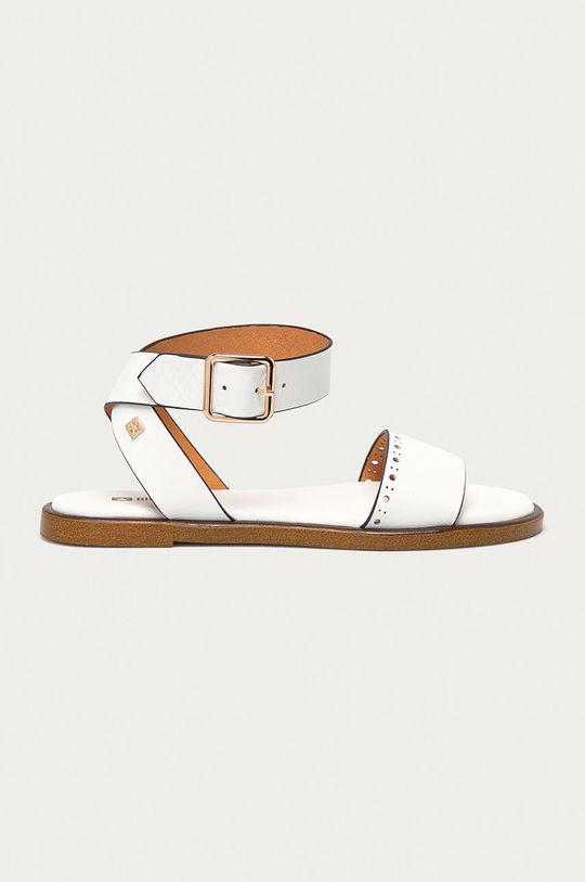 bílá Big Star - Kožené sandály Dámský
