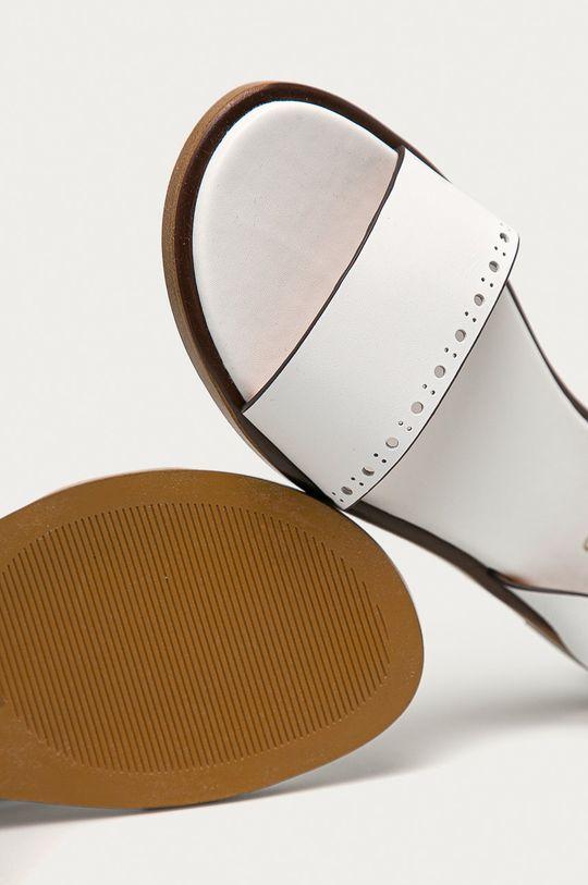 bílá Big Star - Kožené sandály