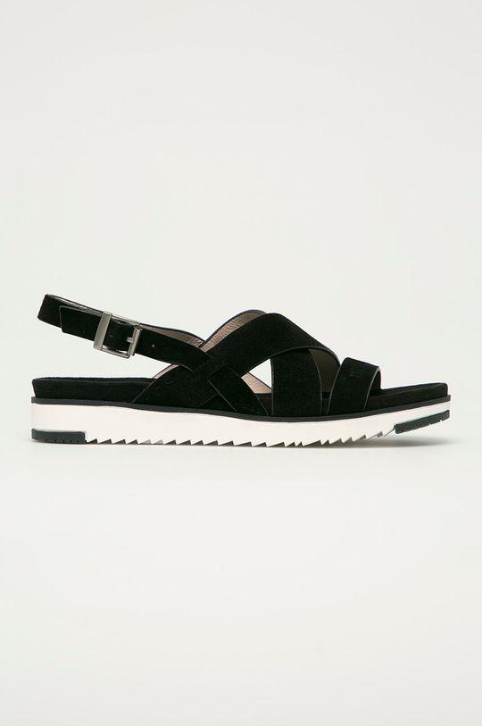 černá Big Star - Semišové sandály Dámský