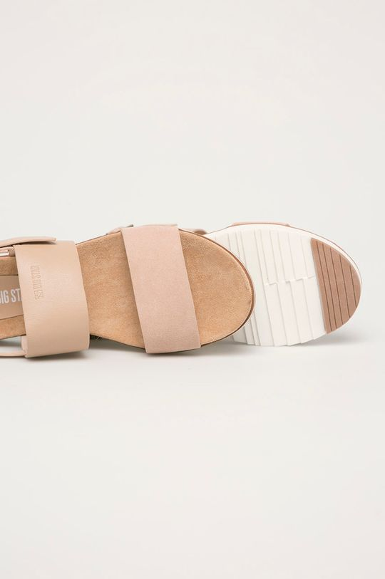 Big Star - Kožené sandály  Svršek: Přírodní kůže Vnitřek: Textilní materiál, Přírodní kůže Podrážka: Umělá hmota