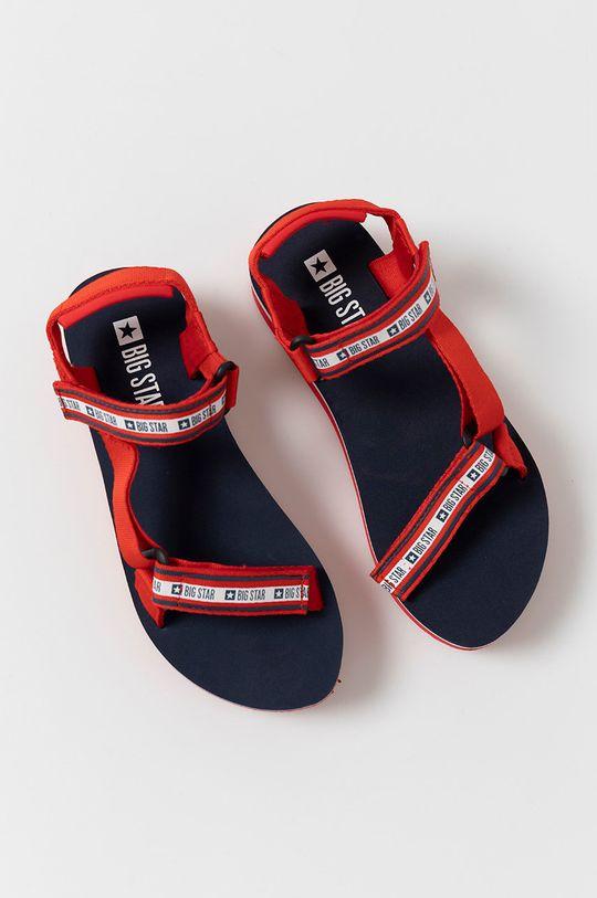 czerwony Big Star - Sandały