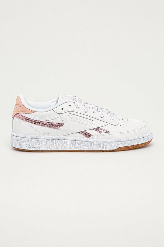 bílá Reebok Classic - Kožené boty Club C Dámský