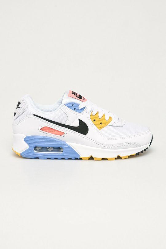 biela Nike Sportswear - Topánky Air Max 90 Dámsky