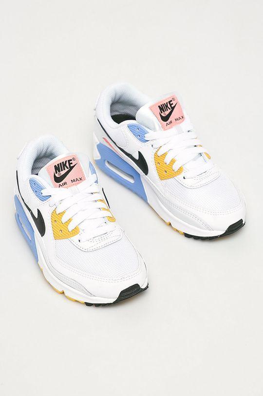 Nike Sportswear - Topánky Air Max 90 biela
