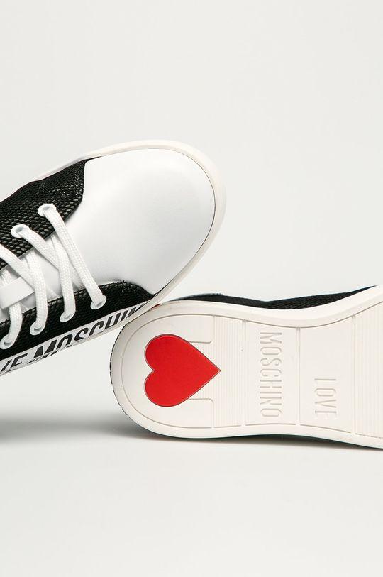 czarny Love Moschino - Buty