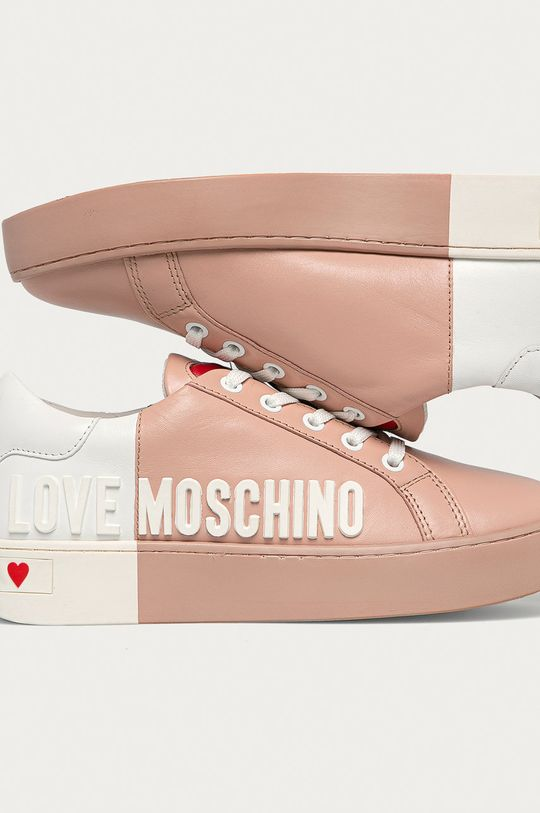 Love Moschino - Kožená obuv Dámsky