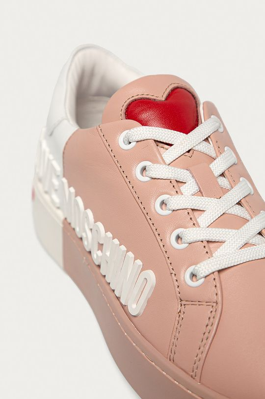 Love Moschino - Kožená obuv