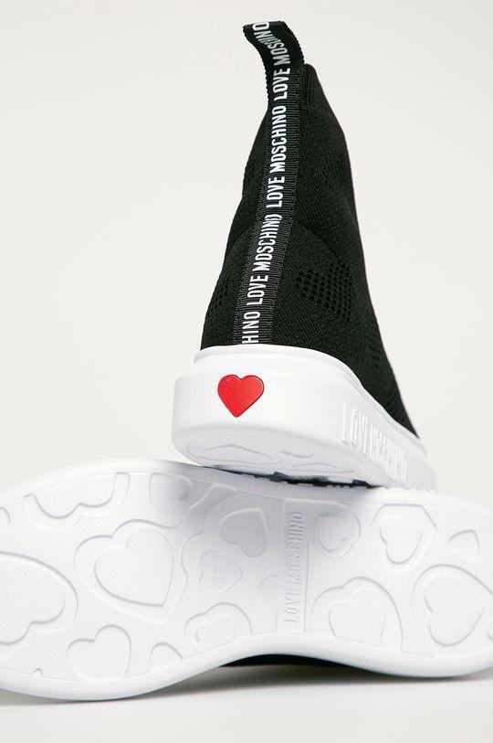 Love Moschino - Topánky  Zvršok: Textil Vnútro: Syntetická látka, Textil Podrážka: Syntetická látka