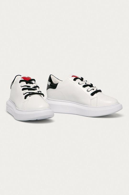 Love Moschino - Topánky biela