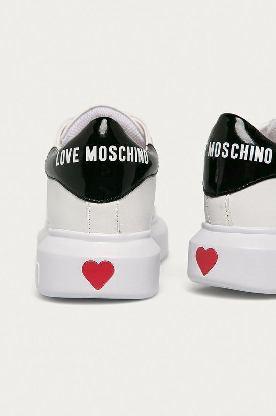 Love Moschino - Topánky  Zvršok: Syntetická látka, Prírodná koža Vnútro: Syntetická látka, Textil Podrážka: Syntetická látka