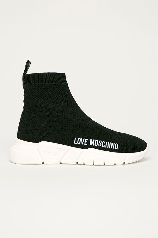 čierna Love Moschino - Topánky Dámsky