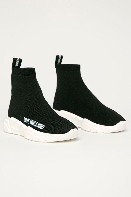 Love Moschino - Topánky čierna