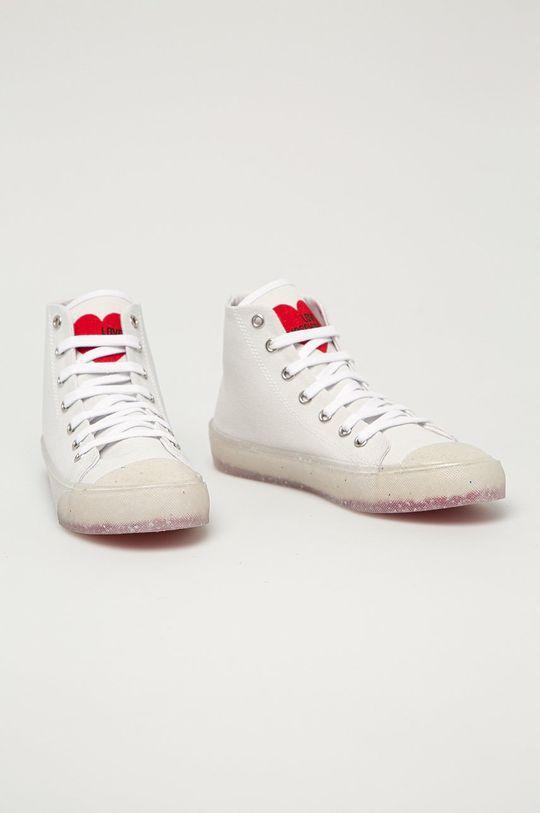Love Moschino - Tenisky biela