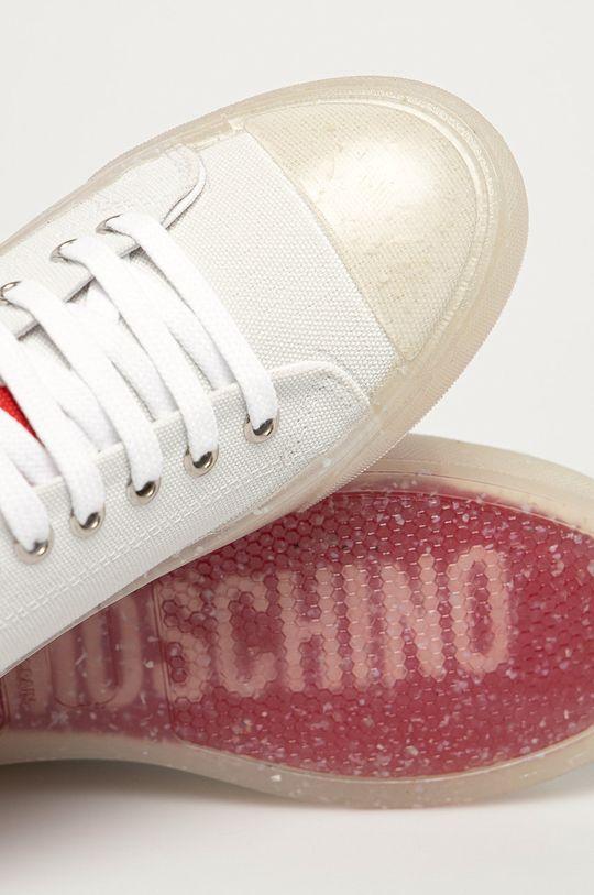 bílá Love Moschino - Tenisky