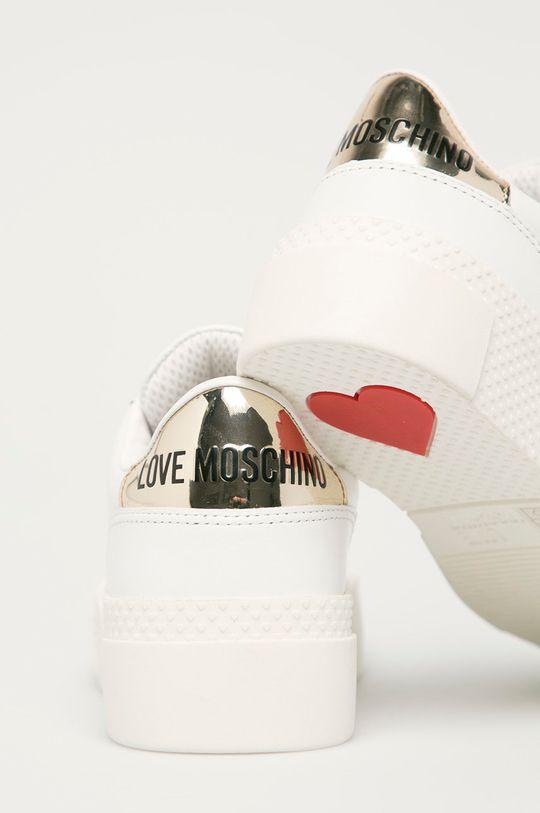 Love Moschino - Boty  Svršek: Umělá hmota, Přírodní kůže Vnitřek: Umělá hmota, Přírodní kůže Podrážka: Umělá hmota