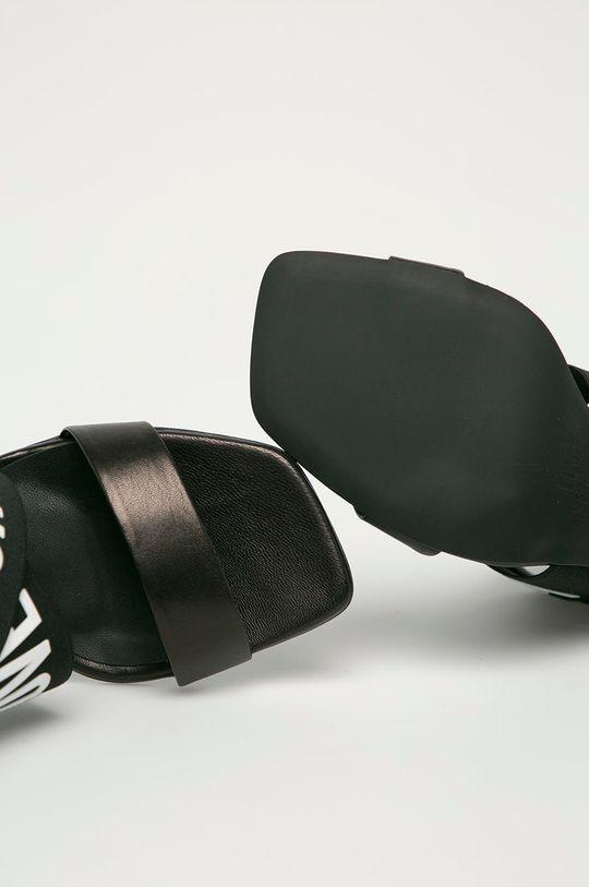 czarny Love Moschino - Sandały