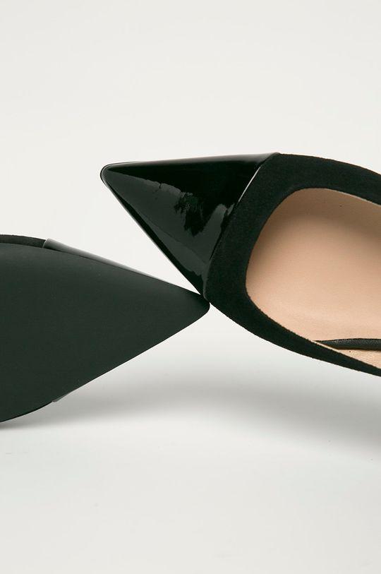 čierna Furla - Kožené balerínky Code