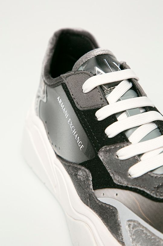 sivá Armani Exchange - Topánky