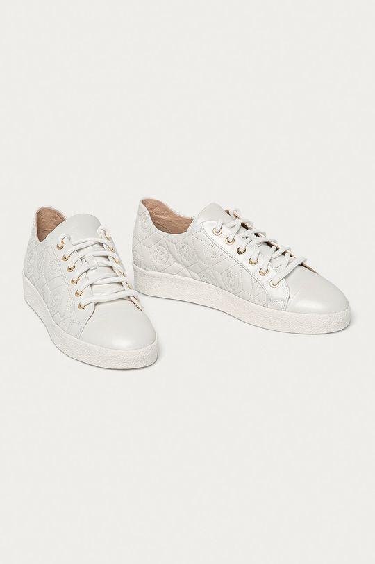Baldowski - Kožené boty bílá