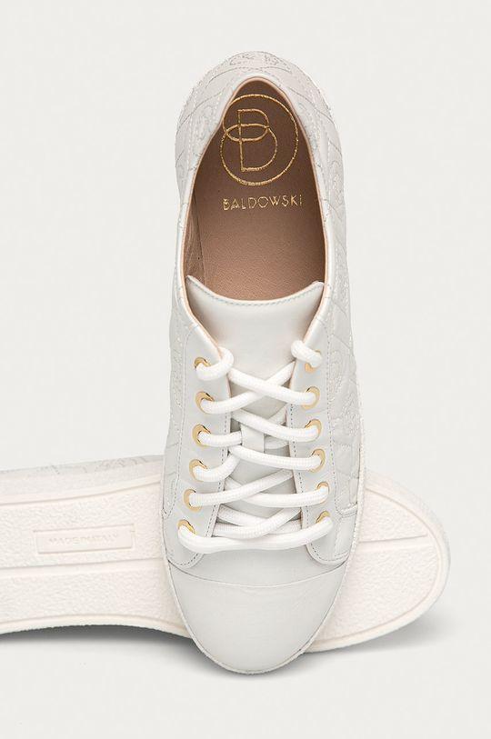 bílá Baldowski - Kožené boty