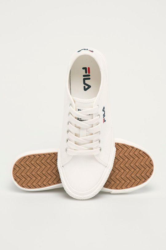 biały Fila - Tenisówki