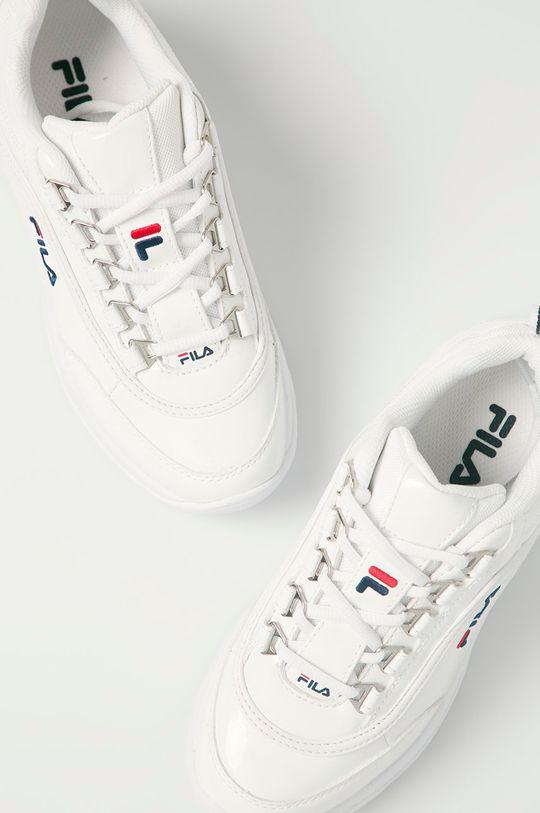 alb Fila - Pantofi Strada F