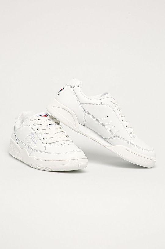 Fila - Kožená obuv Town Classic biela