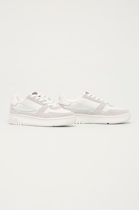 Fila - Kožené boty FXVentuno bílá