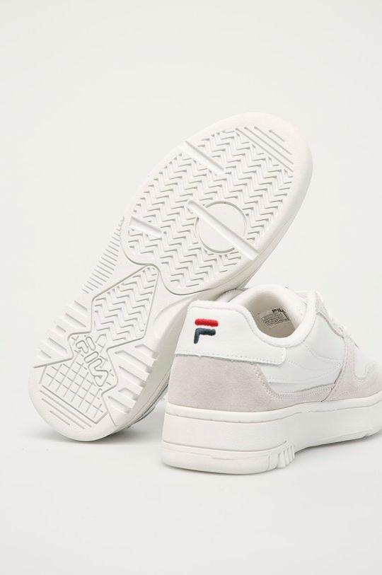 Fila - Kožené boty FXVentuno  Svršek: Přírodní kůže Vnitřek: Textilní materiál Podrážka: Umělá hmota