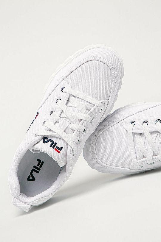 biały Fila - Tenisówki Sandblast