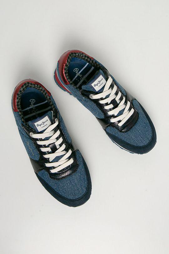 granatowy Pepe Jeans - Buty Verona W Fray