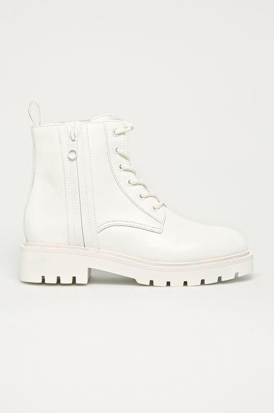 biały Calvin Klein Jeans - Workery Damski