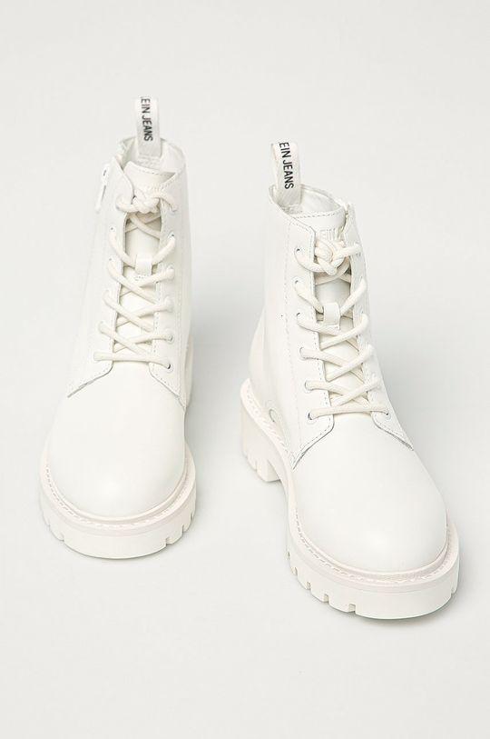 Calvin Klein Jeans - Workery biały