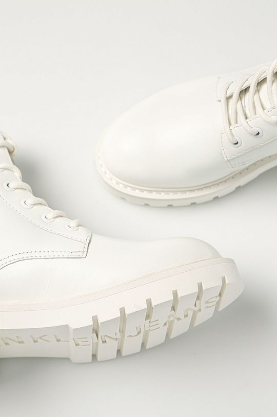 biały Calvin Klein Jeans - Workery