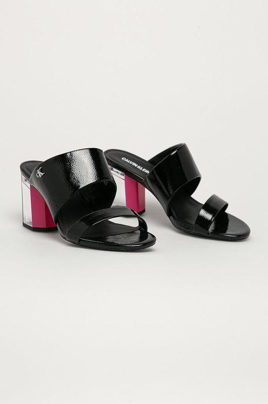 Calvin Klein Jeans - Klapki czarny