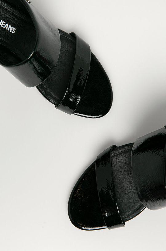 czarny Calvin Klein Jeans - Klapki
