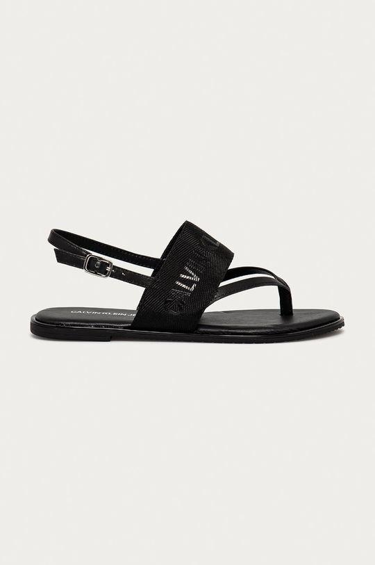 černá Calvin Klein Jeans - Sandály Dámský