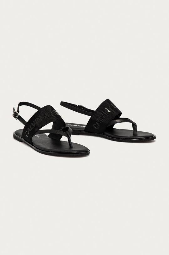 Calvin Klein Jeans - Sandály černá